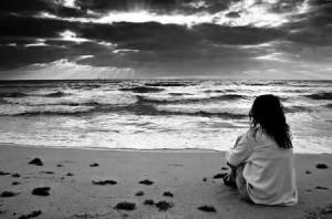 solidão praia