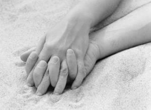 Em suas mãos